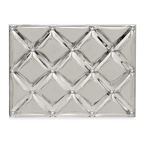 Silver Plated Quilt Photo Album