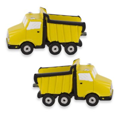 Dump Truck Finials (Set of 2)