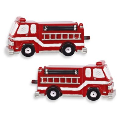 Fire Truck Finials (Set of 2)