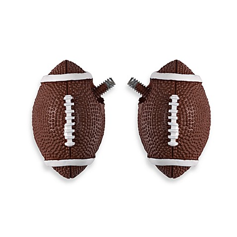 Football Finials (Set of 2)