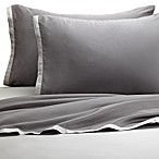 KAS® Two Tone Light Grey/Dark Grey Sheet Set