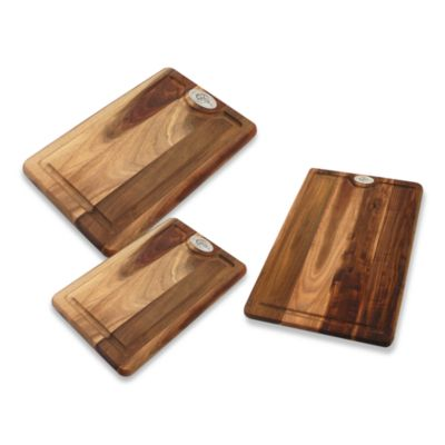 Cat Cora Large Two-Sided Wood Cutting Board