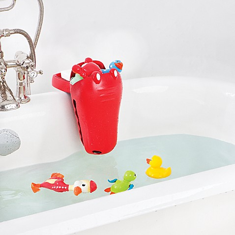 Aquatopia™ Croc Bath Toy Organizer Scoop with Clamp