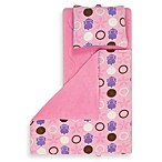 Aquatopia™ Hippo Pink Memory Foam Nap Mat with Pillow