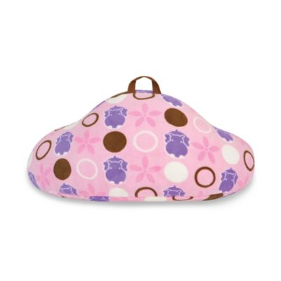 Aquatopia™ Hippo Pink Pillow Mate Backrest