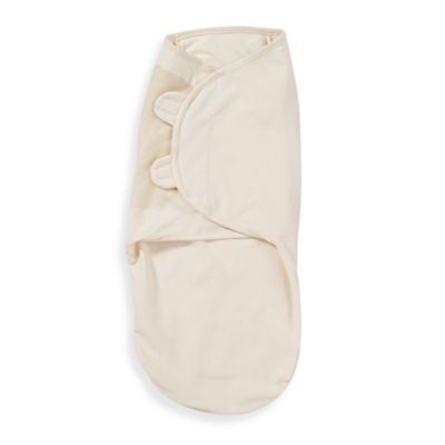 Swaddles > SwaddleMe® M/L Adjustable Infant Wrap by Summer Infant®, 100% Organic Cotton in Ivory