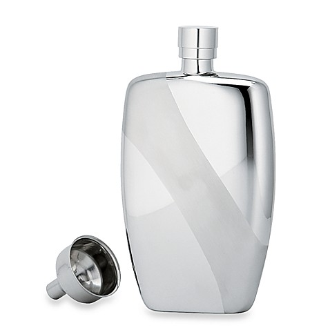Gorham® Rectangular Flask with Funnel
