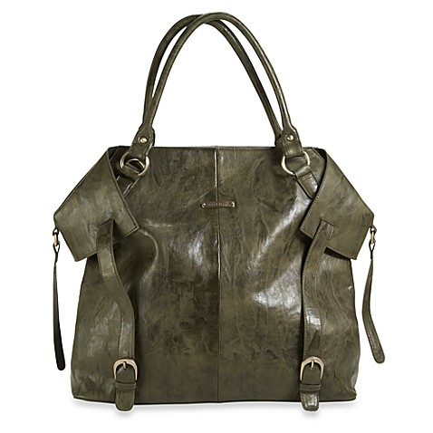 timi & leslie® Charlie Convertible Diaper Bag in Olive