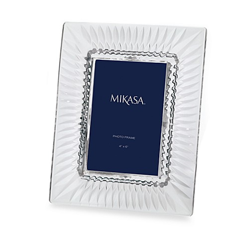 Buy Mikasa 174 Capella 4 Inch X 6 Inch Crystal Frame From Bed