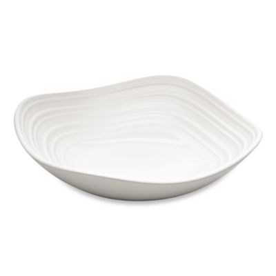 Mikasa® Swirl Square 14-Ounce Fruit Bowl in White