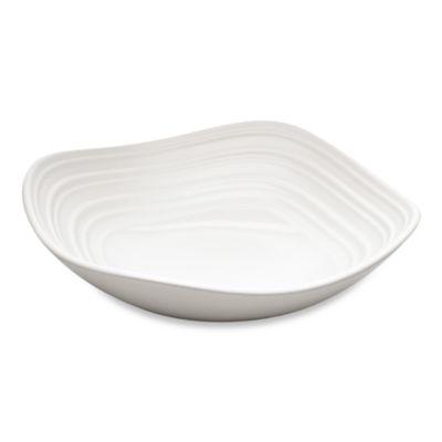 Mikasa® Swirl Square 14 oz. Fruit Bowl in White