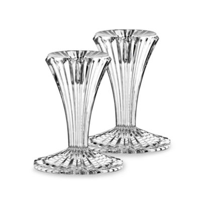 Marquis® by Waterford Bezel 4-Inch Candlesticks (Set of 2)