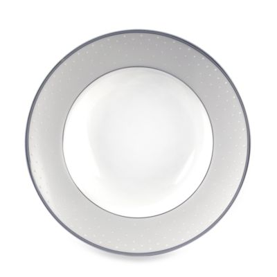 Monique Lhuillier Waterford® Pointe d'esprit 8-Inch Rim Soup Bowl