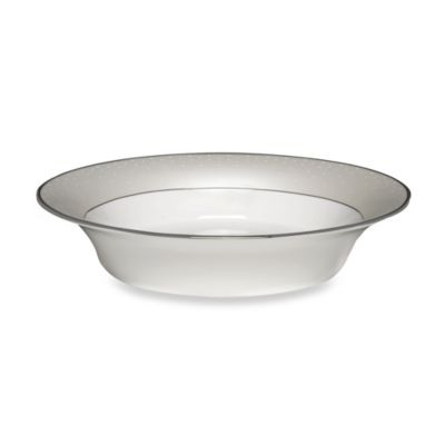 Monique Lhuillier Waterford® Pointe d'esprit 9-Inch Open Vegetable Dish