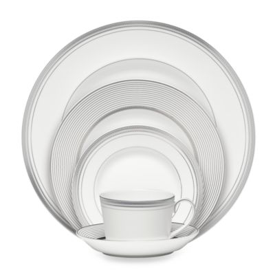 Monique Lhuillier Waterford® Platine 5-Piece Place Setting