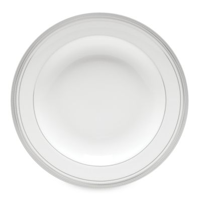 Monique Lhuillier Waterford® Platine 9-Inch Rim Soup Bowl