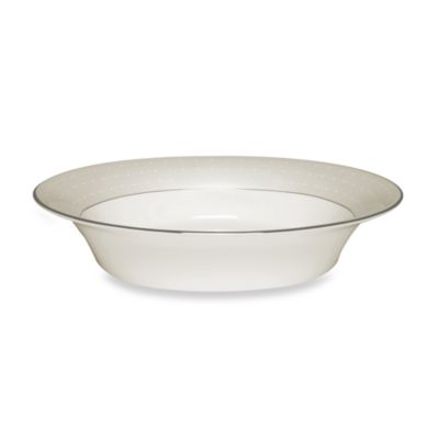 Monique Lhuillier Waterford® Etoile Platinum 9-Inch Open Vegetable Bowl