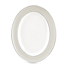 Monique Lhuillier Waterford® Etoile Platinum Oval Platter