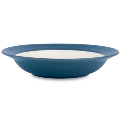 Noritake Colorwave Blue Rim 8 1/2-Inch Rim Soup Bowl