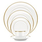 Noritake® Pembroke Gold 5-Piece Place Setting