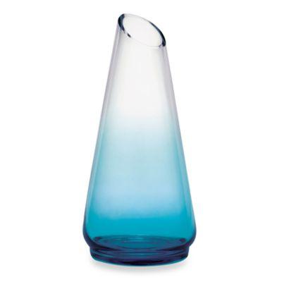 Mikasa® Monochrome Teal 14-Inch Glass Vase