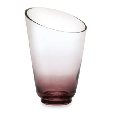 Mikasa® Monochrome Smoke 10-Inch Glass Vase