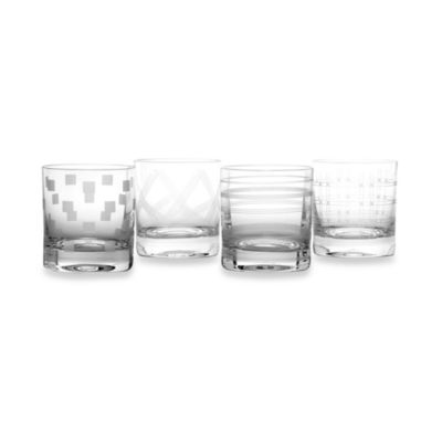 Mikasa® Expressions 12 3/4-Ounce Double Old Fashioned (Set of 4)