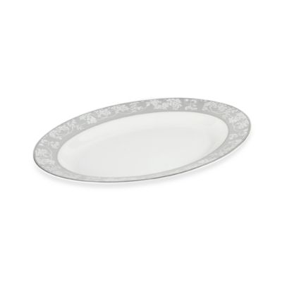 Mikasa® Something Borrowed 14-Inch x 11-Inch Oval Platter