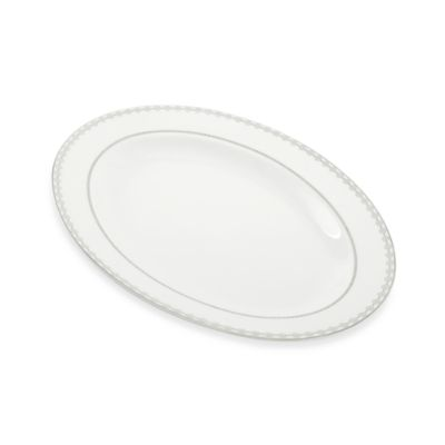 Mikasa® Floral Strand 14-Inch x 11-Inch Oval Platter