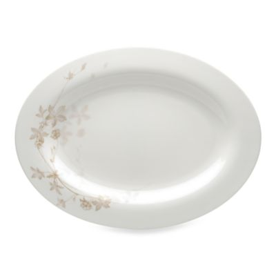 Mikasa® Floral Mist 15 1/2-Inch Oval Platter