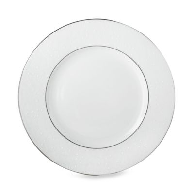 Floral White Dinnerware Plates