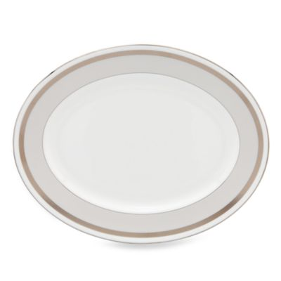 kate spade new york Grace Avenue 13-Inch Oval Platter