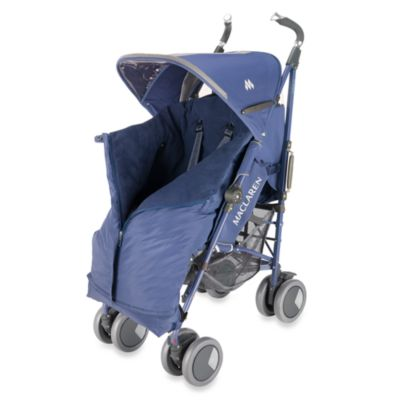 Maclaren® Universal Expandable Footmuff in Crown Blue