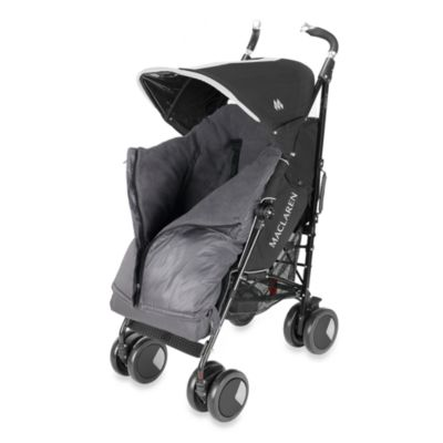 Maclaren® Universal Expandable Footmuff in Charcoal