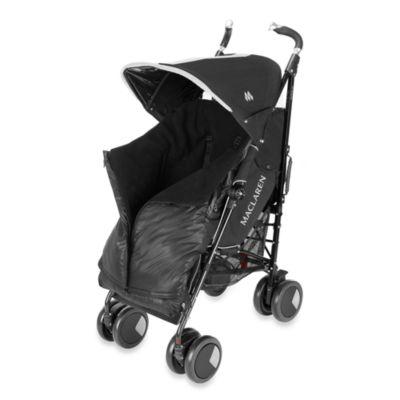 Maclaren® Universal Expandable Footmuff in Black