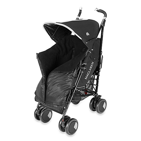 Maclaren® Universal Expandable Footmuff in Black