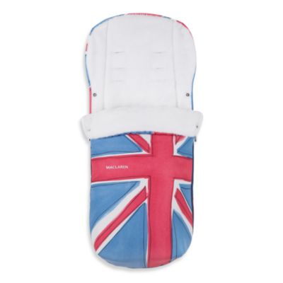 Maclaren® Universal Fashion Footmuff in Union Jack