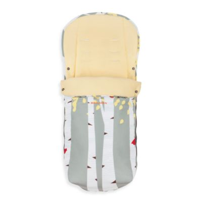 Maclaren® Universal Fashion Footmuff in Birch Trees