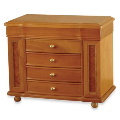 Mele & Co. Jewelry Box Josephine Oak