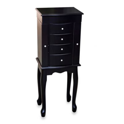Mele & Co. Jewelry Armoire - Racquel - Java