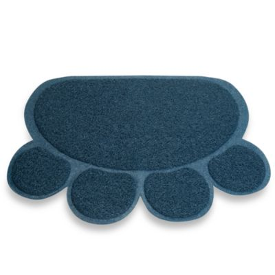 Cat Paw Print Litter Mat