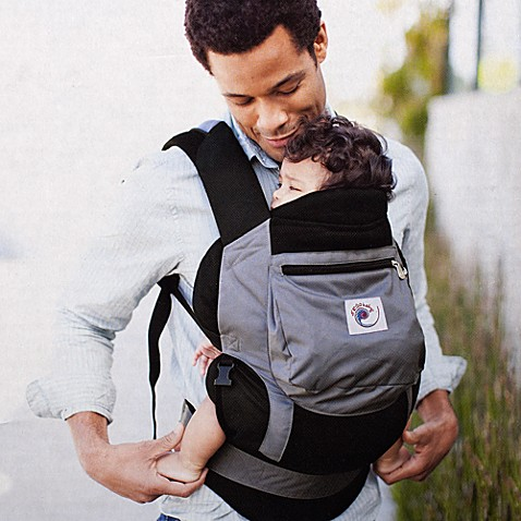 ERGObaby® Performance Infant Insert in Black/Charcoal