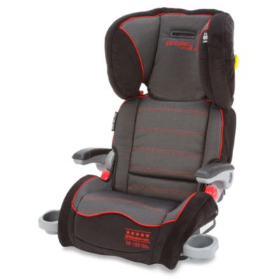 The First Years by Tomy Compass B540 Booster Car Seat in Elegance Black & Red