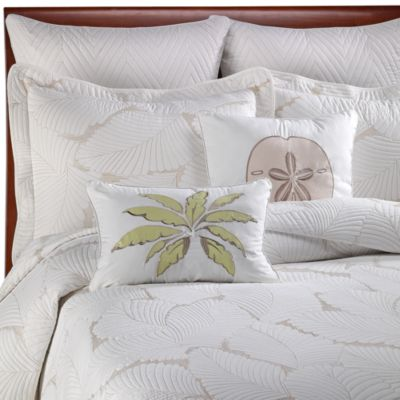 Island Leaves European Pillow Sham