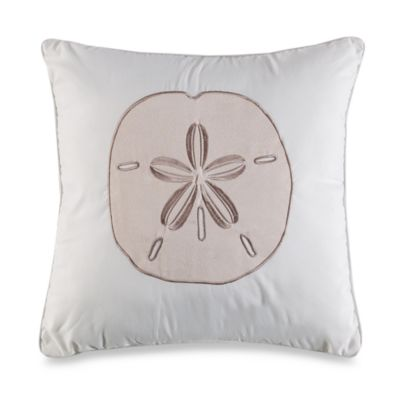 Island Leaves Square Toss Pillow