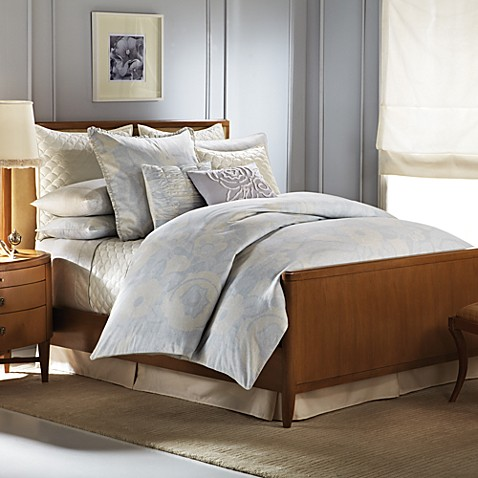 Barbara Barry Forties Floral Sheet Sets, 100% Cotton, 300 Thread Count.