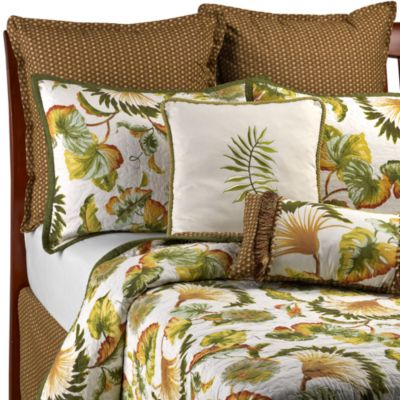 Fan Foliage Bed Skirt