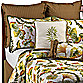 Fan Foliage California King Bed Skirt