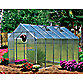 Riverstone Monticello Extruded Aluminum 8-Foot x 12-Foot Residential Greenhouse