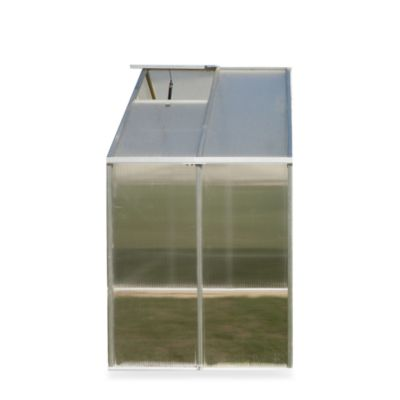 Riverstone Monticello Extruded Aluminum 4-Foot Greenhouse Extension Kit